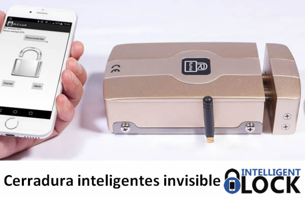 cerradura inteligente invisible intelligent lock